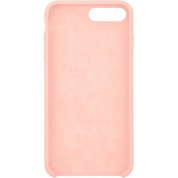 Чехол для iPhone InterStep iPhone 8/7 Plus SOFT-T METAL ADV розовый